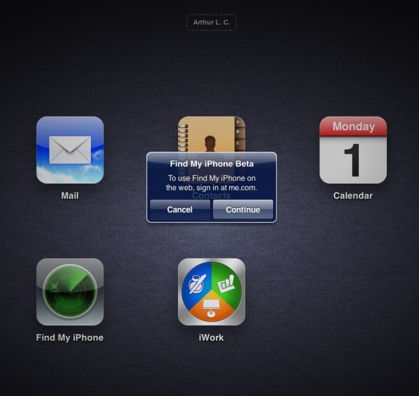 Find My iPhone no iCloud via MobileMe