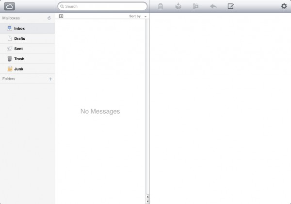 Mail no iCloud.com