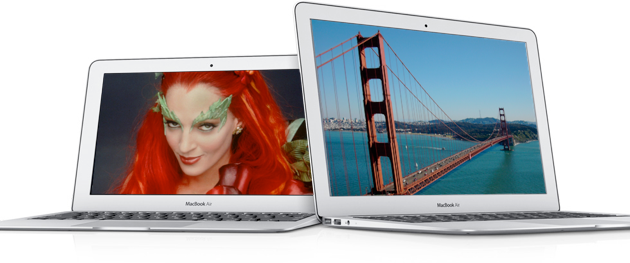 MacBooks Air com Ivy Bridge