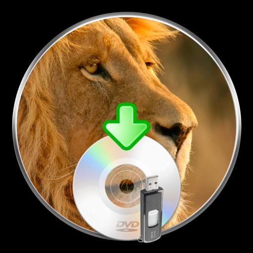 Ícone - Lion DiskMaker
