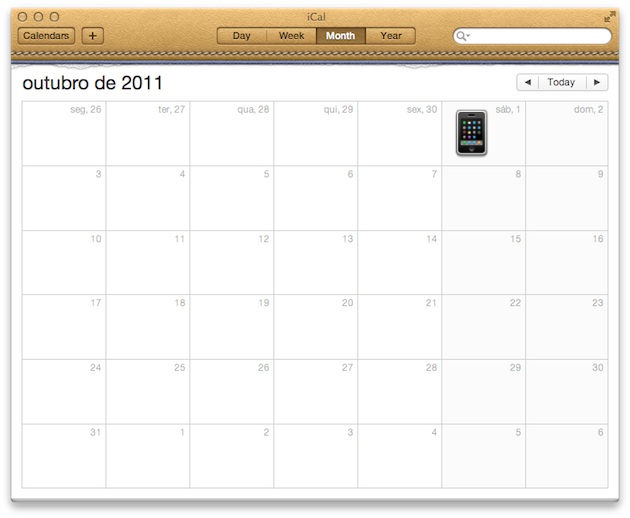 Dia do lançamento do iPhone 5 no Canadá?