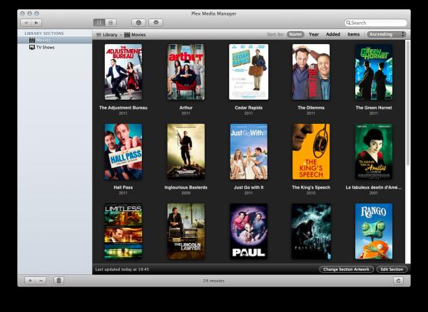 Plex Media Center no Mac