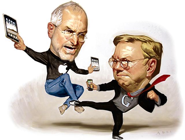 Charge - Steve Jobs (Apple) contra Eric Schmidt (Google)