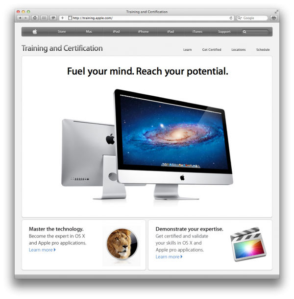 Apple - Training and Certification