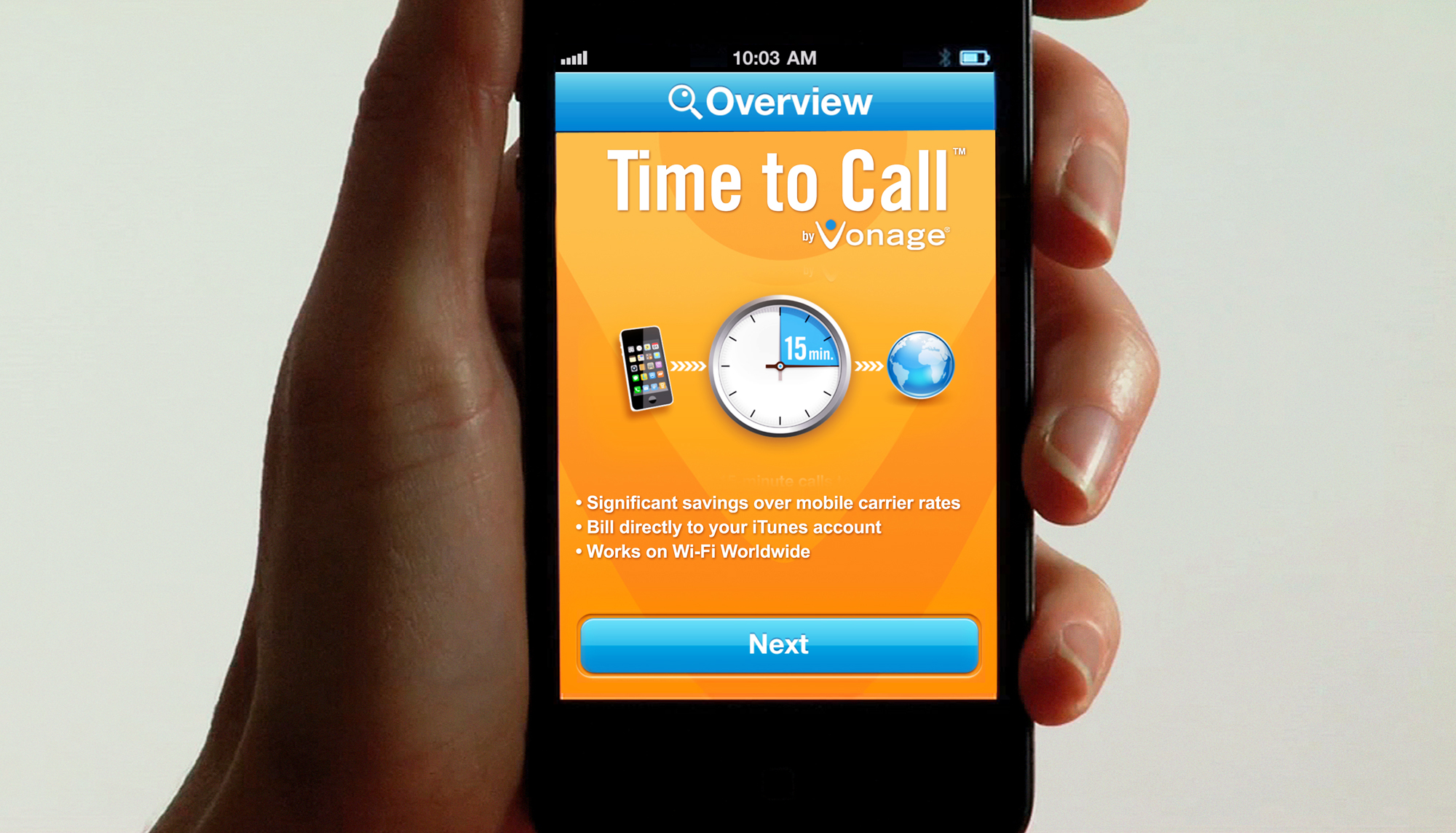 Vonage - Time To Call
