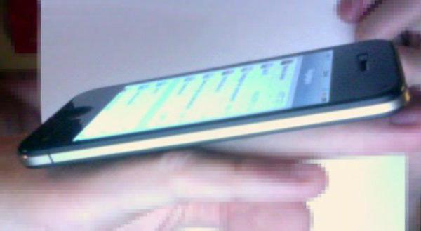 Suposta foto de um iPhone 5