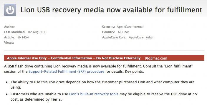 Sobre o pendrive do OS X Lion