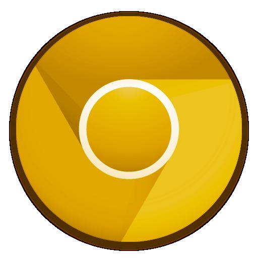 Ícone - Google Chrome Canary build