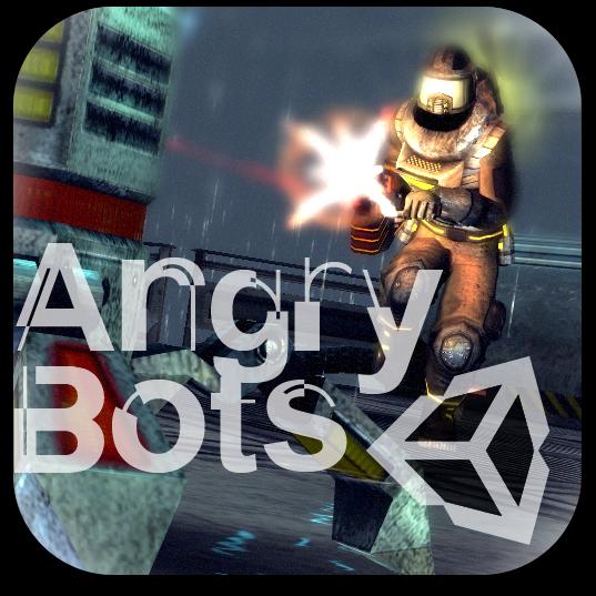 Ícone de Angry Bots