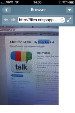 Chat for GTalk - iPhone