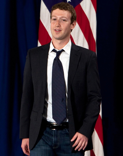 Mark Zuckerberg (Facebook) entre os mais mal-vestidos