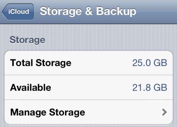 20GB no MobileMe para o iCloud