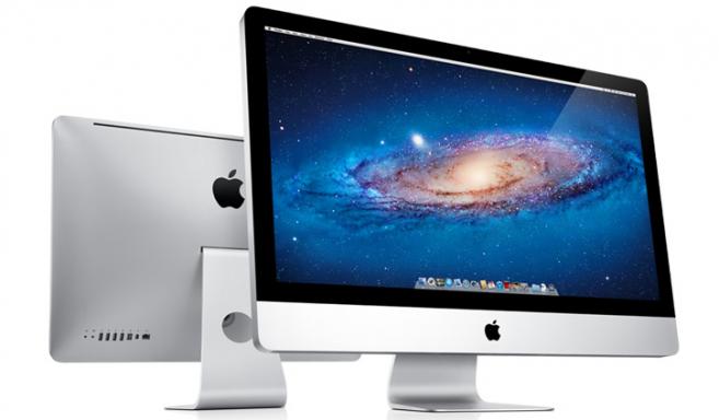 iMac de frente e de trás
