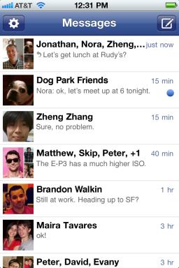 Facebook Messenger - iPhone