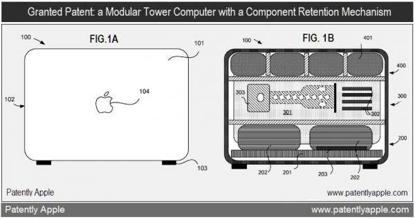 Patente de organização interna em Mac Pro