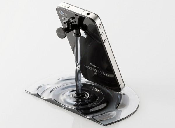 Stand de torneira para iPhone