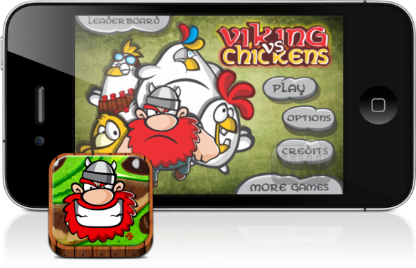 Viking vs. Chickens - iPhone