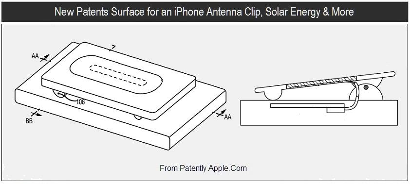 Patente de antena em clipe