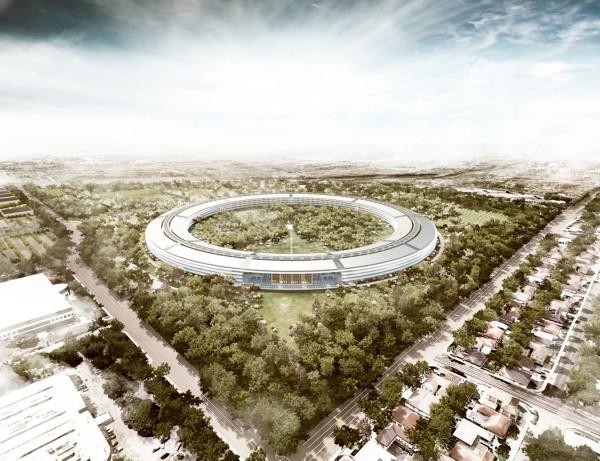 Projeto do novo campus da Apple em Cupertino