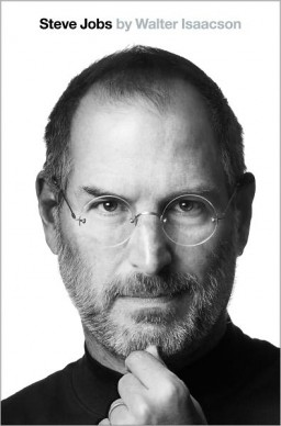 Capa da biografia de Steve Jobs, por Walter Isaacson