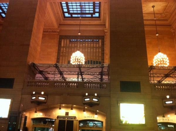 Construção da Apple no Grand Central Terminal