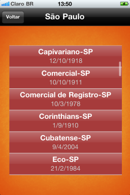 Times do Brasil - iPhone