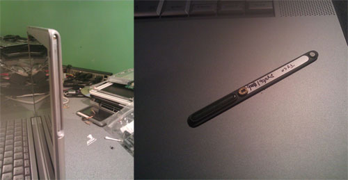Antena magnética de protótipo de MacBook Pro 3G