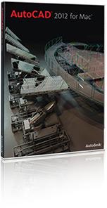 Caixa do AutoCAD 2012 para Mac