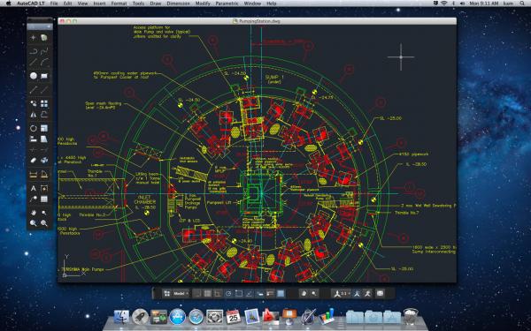 AutoCAD LT - Mac OS X