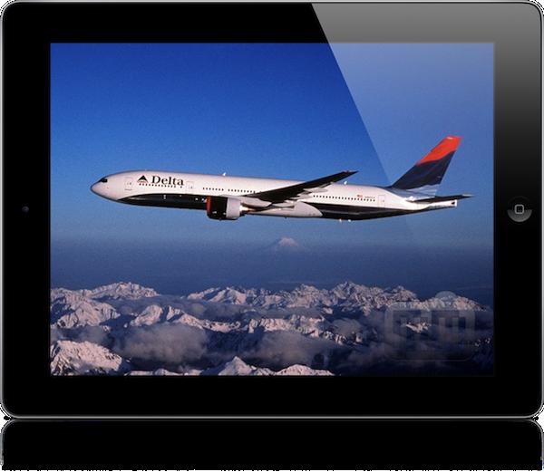 iPad na Delta Air Lines