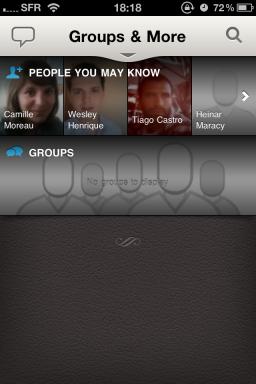 LinkedIn app — Groups & More