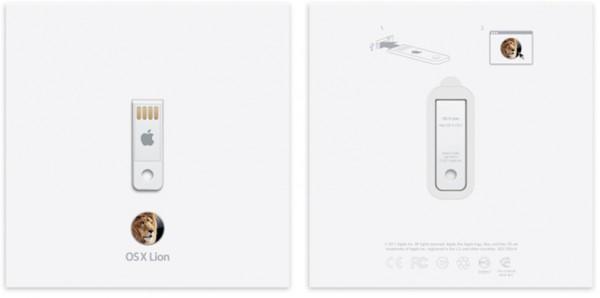 Pendrive USB com o OS X Lion