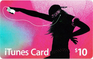 iTunes Gift Card de US$10