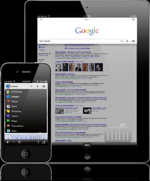 Google Search - iPhone e iPad