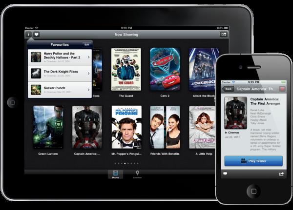 Trailrs no iPad e no iPhone