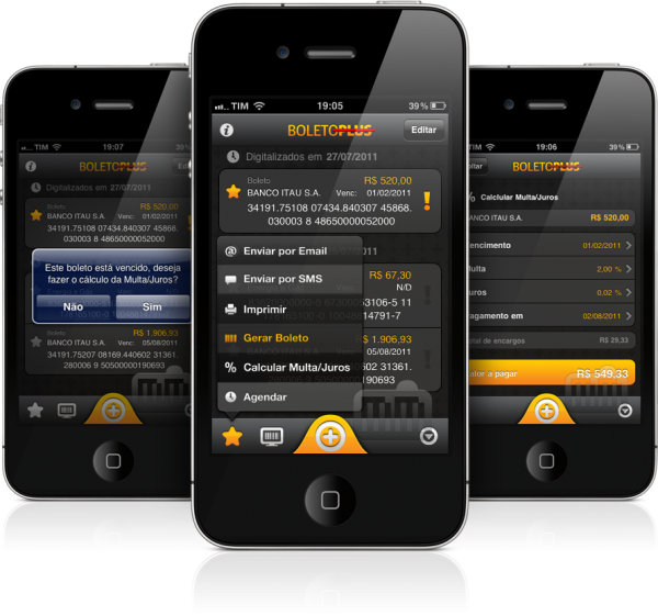 BoletoPlus - iPhones