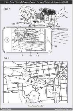 Patente de mapas com realidade aumentada