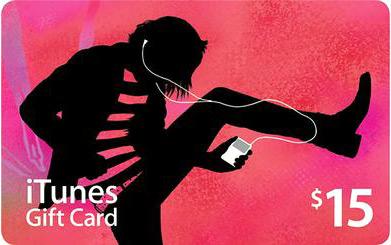 iTunes Gift Card de US$15
