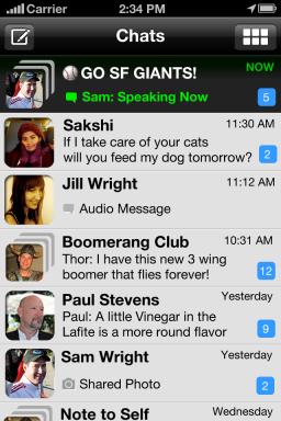 Voxer - iPhone