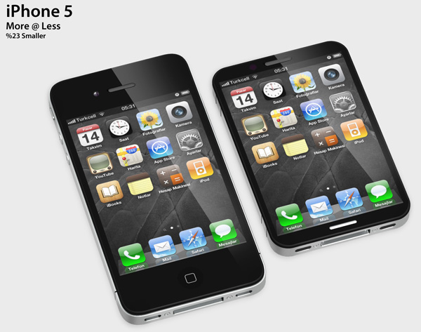 Conceito de iPhone 5/nano - Zeki Ozek