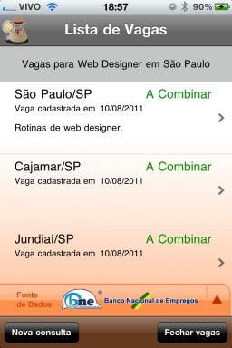 Salário BR - iPhone