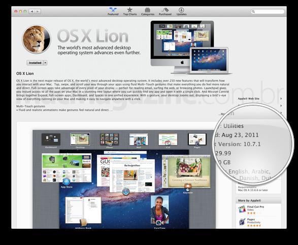 OS X Lion da Mac App Store