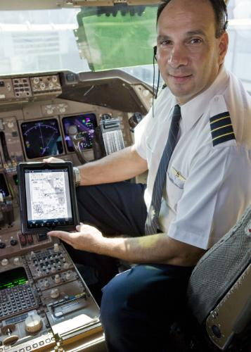 iPad na United Airlines