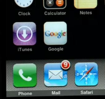 Ícone do Google como WebClip do iOS