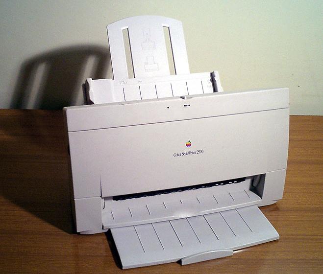 Impressora da Apple - Color StyleWriter 2500
