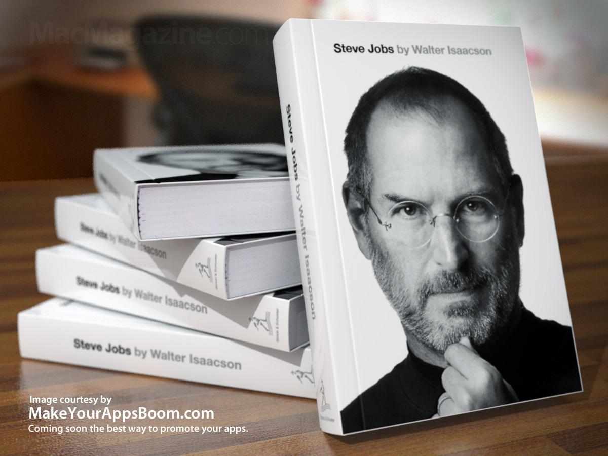 Livros da biografia de Steve Jobs