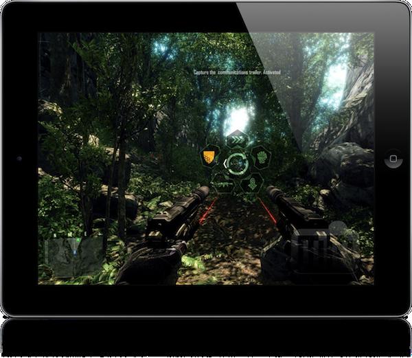 iPad superpoderoso rodando Crysis no máximo