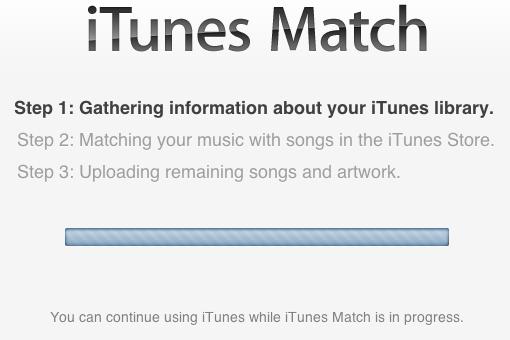 iTunes Match funcionando