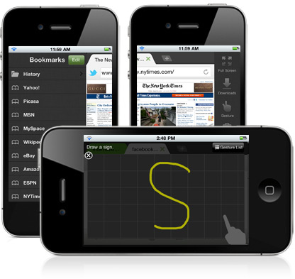 Dolphin Browser no iPhone