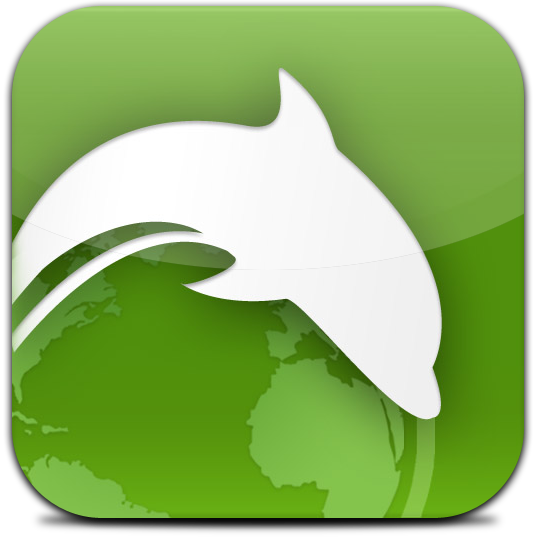Ícone - Dolphin Browser